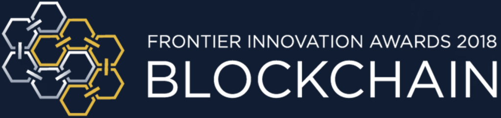 Frontier Innovation Awards: Blockchain