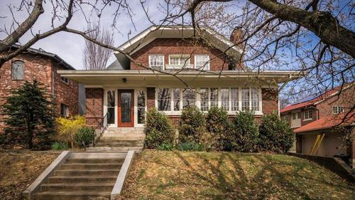 Beautiful Cherokee Triangle Bungalow has much to offer & just steps to Cherokee Park