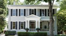 Built in 1864, historic home has been lovingly restored to a stunning showplace