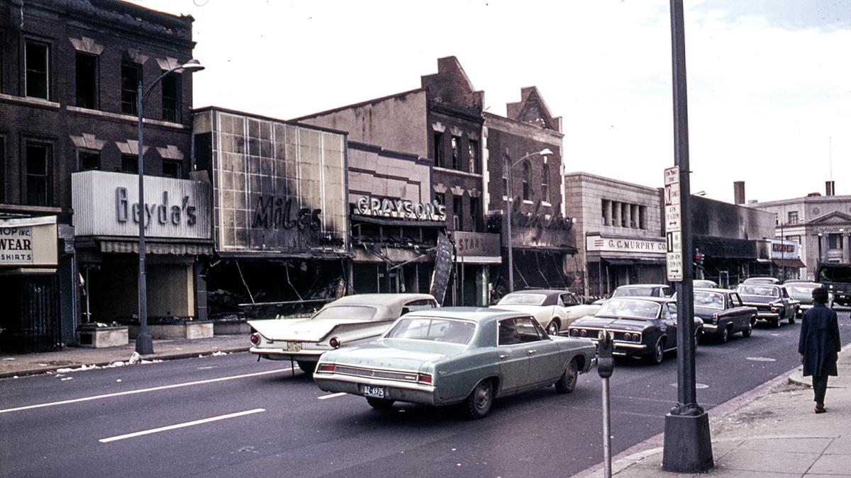 Then And Now What D C S Riot Ravaged Blocks Look Like 50 Years