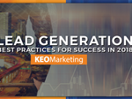 Lead generation best practices for 2018