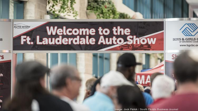 Fort Lauderdale International Auto Show See Photos Of The Th - Fort lauderdale car show