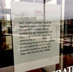 Ted's Café Escondido pulls out of three area locations