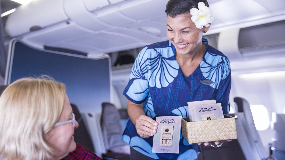 Hawaiian Airlines Partners With Organic Sun Care Company As Part Of Carriers Ongoing Sustainability Efforts
