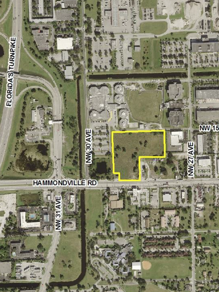 Top Self Storage Three has proposed a self-storage facility at 1501 Hammondville Road in Pompano Beach.