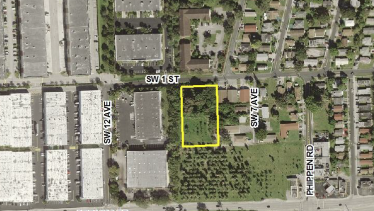 Stirling Square LLC has proposed a 127,000-square-foot self-storage facility along Southwest First Street in Dania Beach.