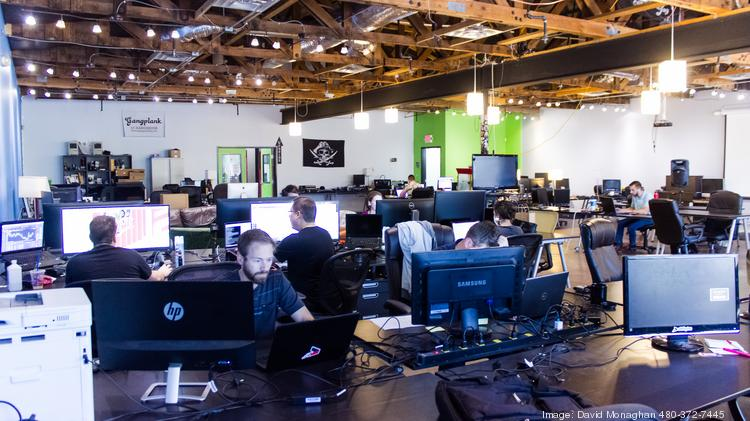 The Chandler Gangplank co-working space.