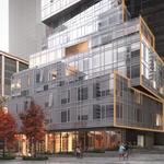 Vulcan unveils waterfall-inspired apartment tower design (Images)