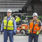 City inspectors may issue final occupancy permit for Milwaukee Bucks arena next month