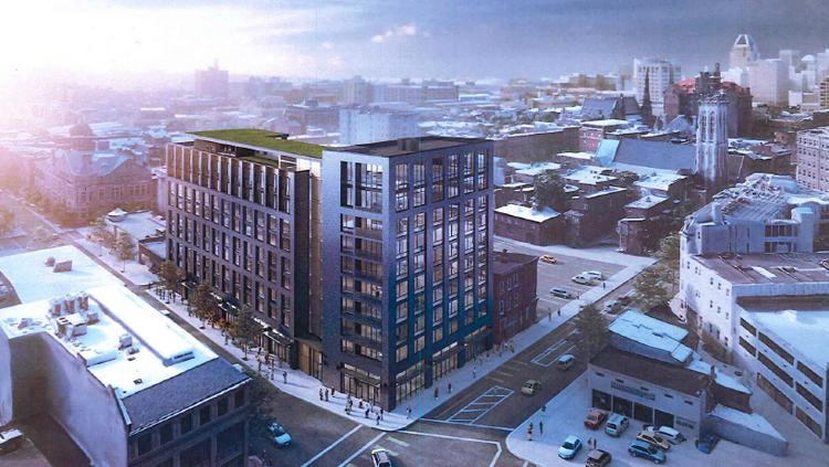 Developer Dennis Richteru0027s Plans For A 10 Story, 126 Unit Apartment And  Retail