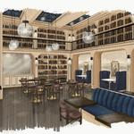 This Florida restaurant is inspired by Baltimore's Peabody library