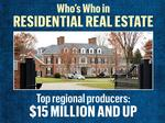 Who's Who in Residential Real Estate: Top-selling Realtors in 2017