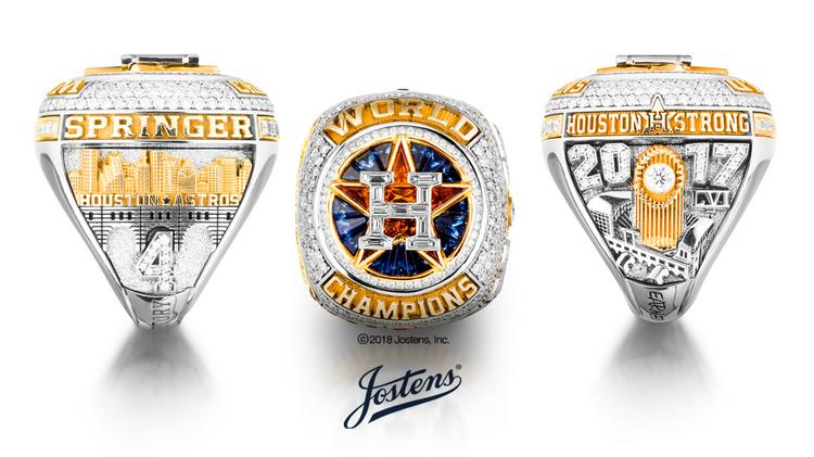 191077660 Houston Astros  2017 World Championship Ring unveiled