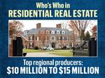 Who's Who in Residential Real Estate: Top-selling Realtors (part 2)