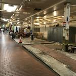 Stalls removed, windows reopened as Cross Street Market work advances