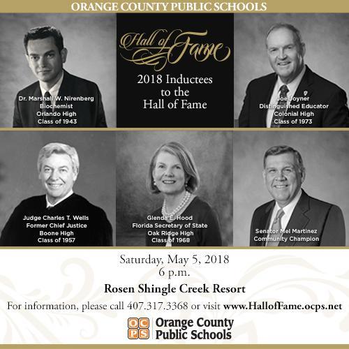 Orange County Public Schools Hall of Fame Awards