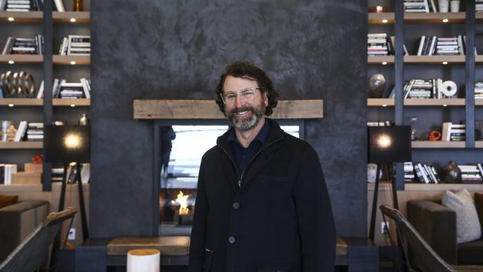 Scott Plank, owner of Warhorse Development at Anthem House.