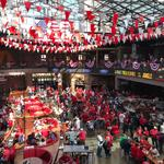 Take in the scenes from the Cardinals home opener