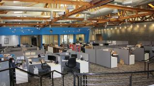 Do you like the open office plan?