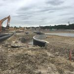 Photos: <strong>Houston</strong>'s first Crystal Lagoon on track to open this summer