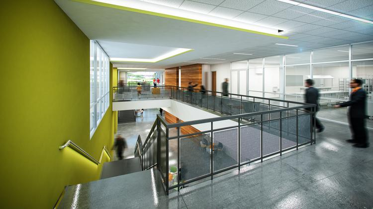 An Interior Rendering Of HCCu0027s New Culinary Arts Building.