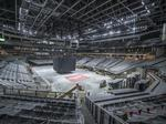 Bucks arena hits 90% completion; which contractors were paid how much?