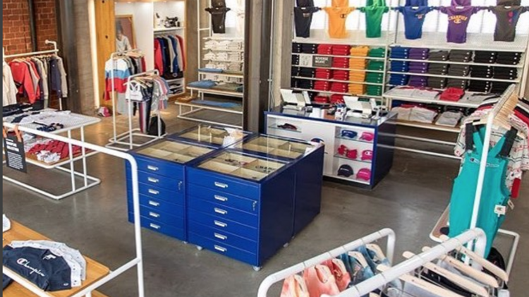 782da034ac Hanebrands  Champion opens first U.S. retail store (PHOTOS) - Triad ...