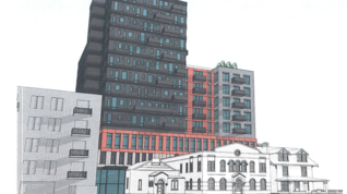 Is 14 stories too tall for the Short North?