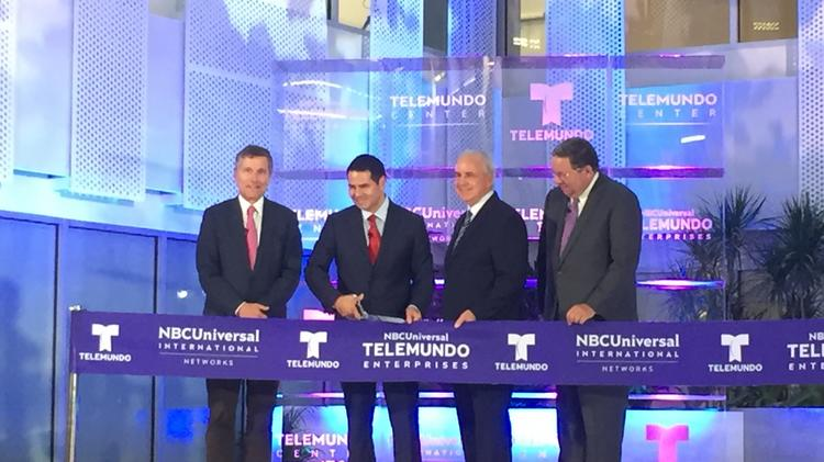 Telemundo opens new $250M headquarters in Miami-Dade County