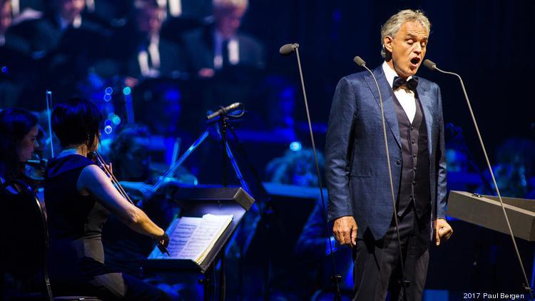 Grammy-nominated classical tenor Andrea Bocelli to make