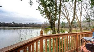 Million Dollar View of Private 13 Acre Lake in Tomball