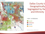 Race, income, education, address divide and threaten Dallas County, report says