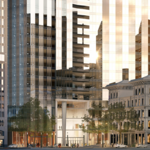 Millennium Partners reveals a third proposed design for Winthrop Square tower