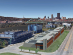 Elmhurst proposes new flex office project at Pittsburgh Technology Center