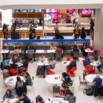 Food halls lure shoppers to malls