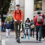 Scooter startup apps explode in popularity as Bird, LimeBike and Spin riders roll on city sidewalks