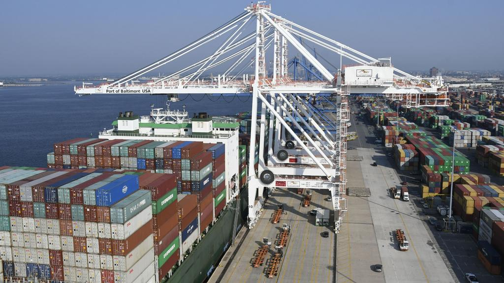 Port of Baltimore breaks 44-year-old cargo handling record