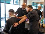 Inside the Portland barbering institute that teaches hair cuts and community (Photos)