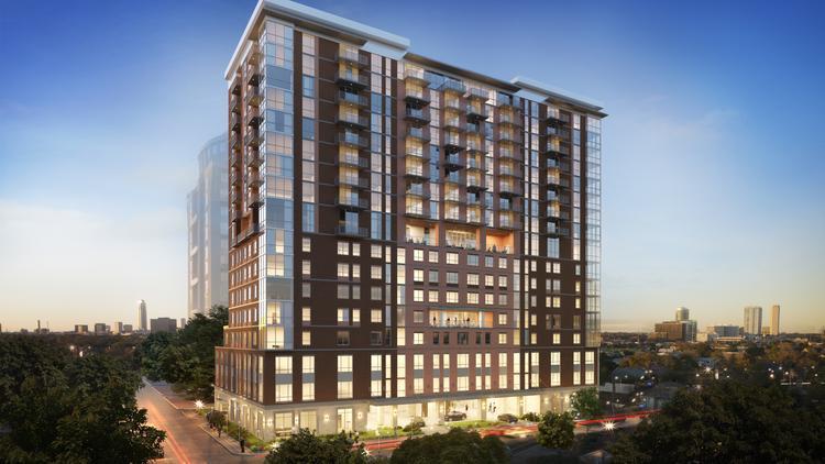 bridgewood property begins senior living high rise project in