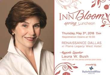 INN Bloom Spring Luncheon with Mrs. Laura Bush presented by Baylor Scott & White Health