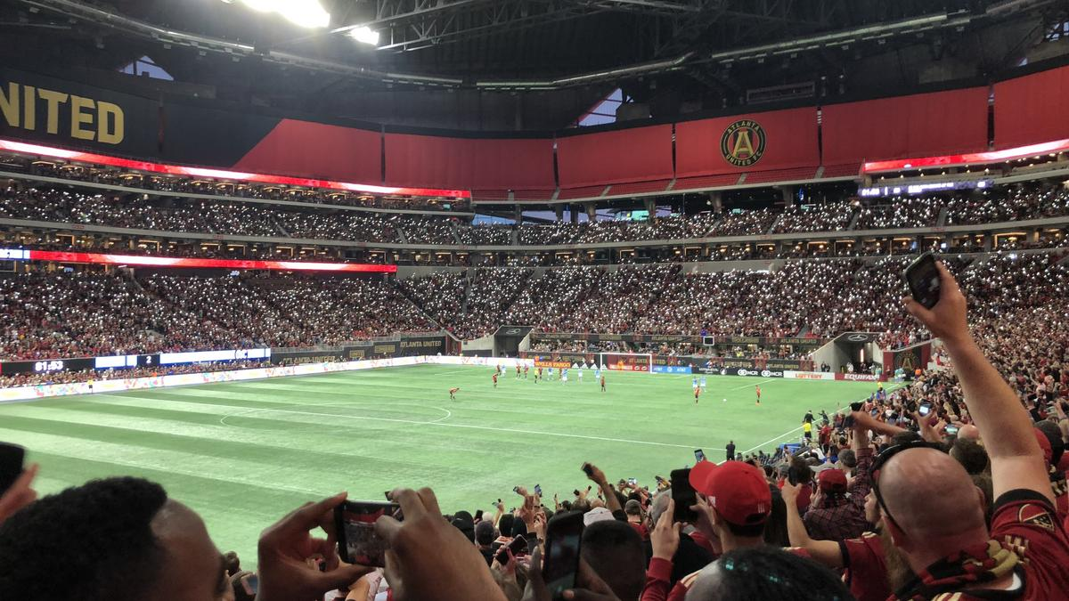Six atlanta united players will represent in all star for Will call mercedes benz stadium