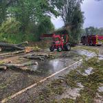 CBJ Morning Buzz: Powerful storms leave damage across region; <strong>Wells</strong> Fargo exec confirms cuts; Mooresville brewery nears opening