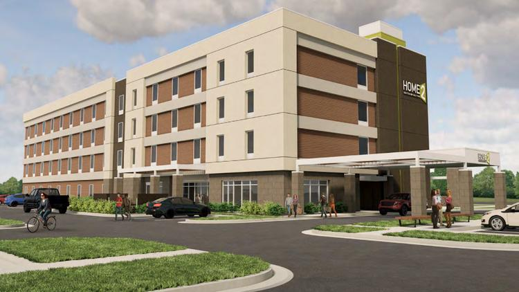 Kwb Hotel Partners Plans To Develop This 99 Room Home2 Suites By Hilton Its
