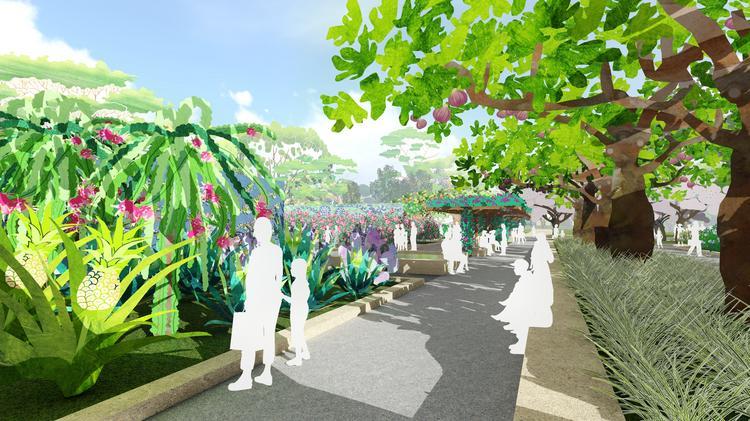 Houston Botanic Garden starts transformation of former Glenbrook ...