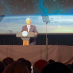 Vice President Pence talks up private-sector space, U.S. dominance during Colorado address to industry