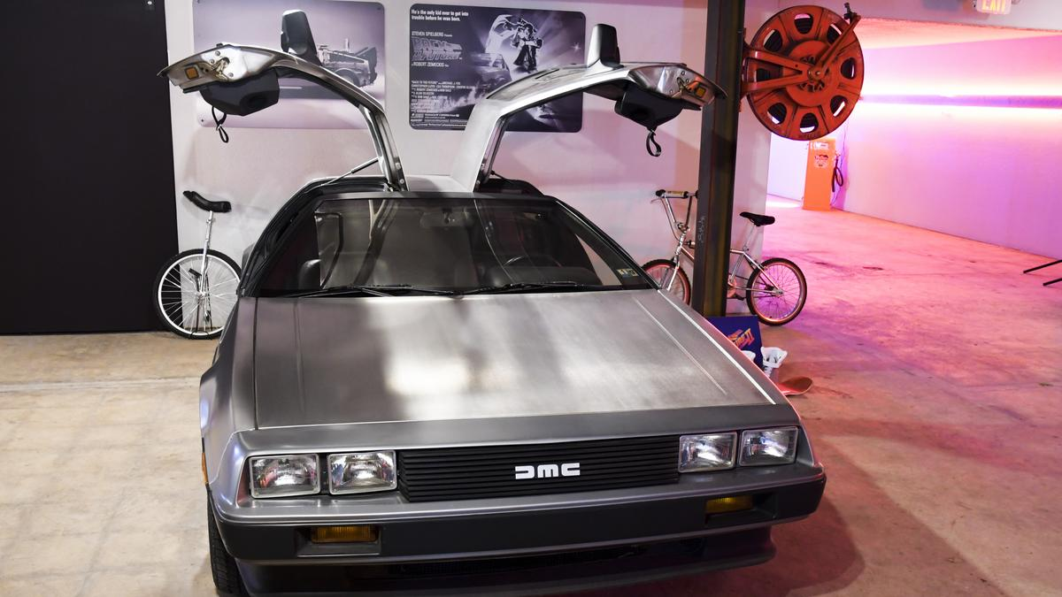 Dallas Area Man Is Having A Garage Sale With More Than 50 Vehicles Including Marty McFlys DeLorean Video