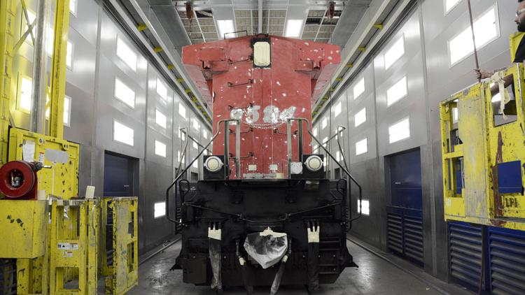 As GE adapts, it keeps an eye on the locomotive of the