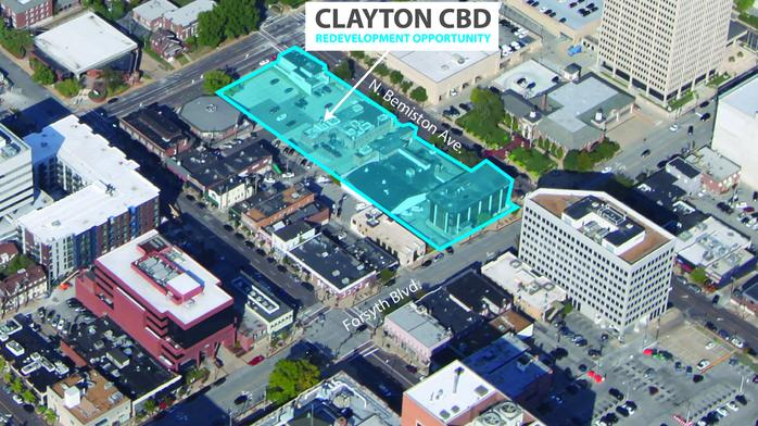 Amid a $1.2 billion building boom in Clayton is a 2-block 'opportunity' up for grabs