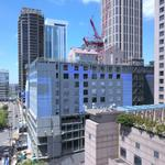 Dual-branded hotel in Midtown tops out (Images)