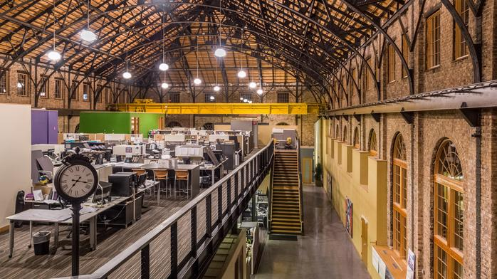 Milwaukee's Coolest Offices: Zimmerman Architectural turns historic building into studios